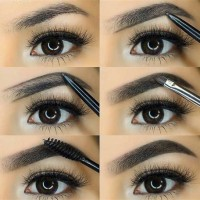 Step By Eyebrow Makeup